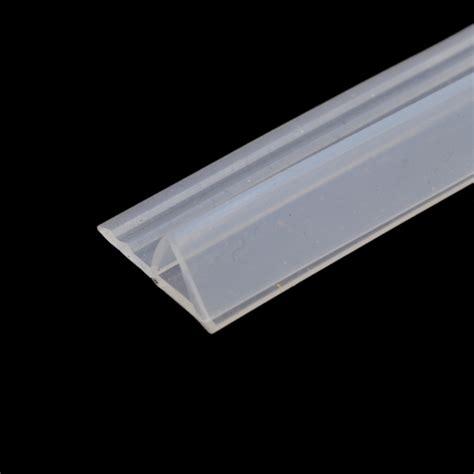 Silicone Shower Door Seal 1m Silicone Window Seal For Fix Bath Shower Door Window Glass 6mm 8mm