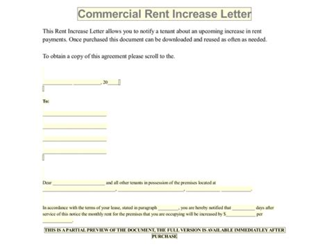 renewal of lease agreement letter office rental termination