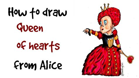 theme song queen of hearts how to draw the queen of hearts alice in wonderland