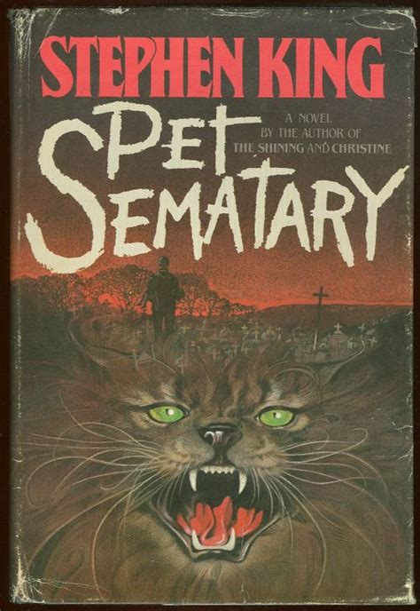 pet sematary book cover stephen king itsjustadogbook