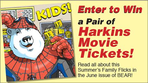 Win A Pair Of by Win A Pair Of Harkins Tickets Essential News