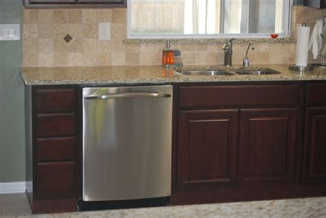 dishwasher installation granite free