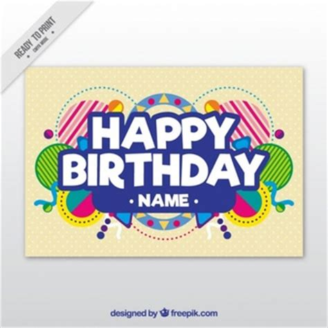 Birthday Card Template Ai by Birthday Vectors 2 300 Free Files In Ai Eps Format