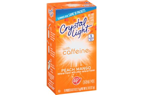 Light Caffeine light with caffeine mango on the go drink