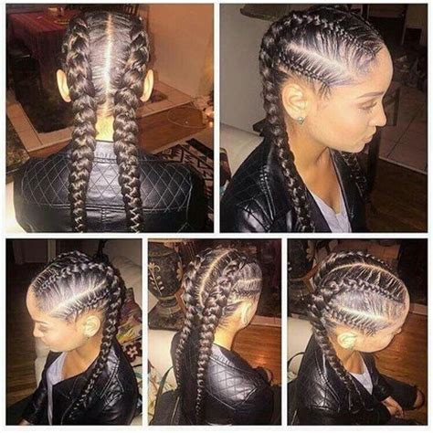 quick cornrows and braids cute quick braided hairstyles
