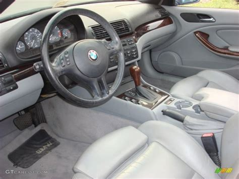 2002 Bmw 325i Interior by Grey Interior 2002 Bmw 3 Series 325i Convertible Photo