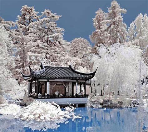 hd wallpapers garden wallpapers - China Garden Winter