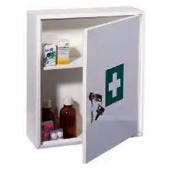 single shelf key locking medicine cabinet insight security