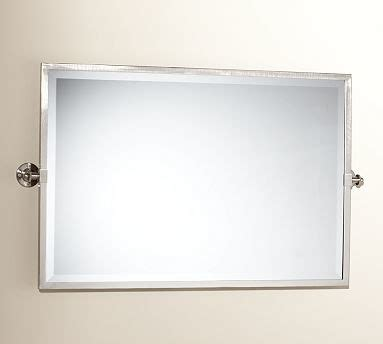 extra wide bathroom mirrors kensington pivot mirror extra large wide rectangle satin nickel finish traditional