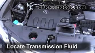 Acura Rdx Transmission Fluid Change Transmission Fluid Level Check Acura Rdx 2013 2016