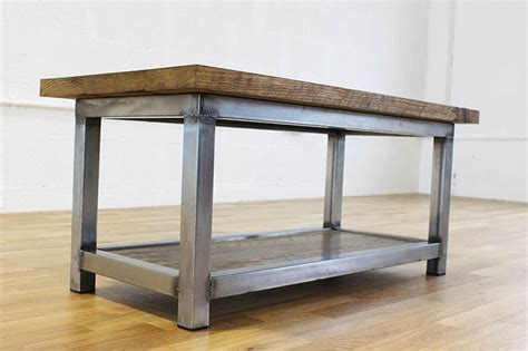 industrial style coffee table vintage industrial style coffee tables oak and steel