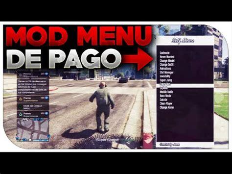 nuevo mod menu de gta v de pago youtube gta 5 online 1 25 1 26 nuevo mod menu de pago el mod