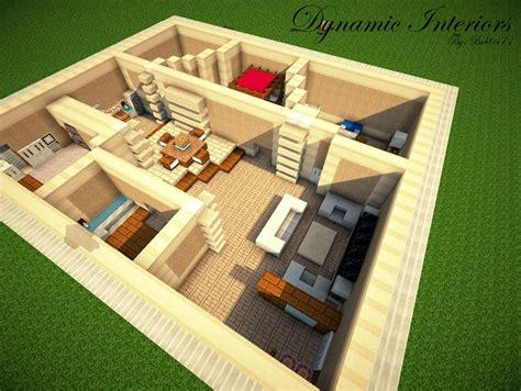 Minecraft Interior Design How To Make A Modern Interior Minecraft
