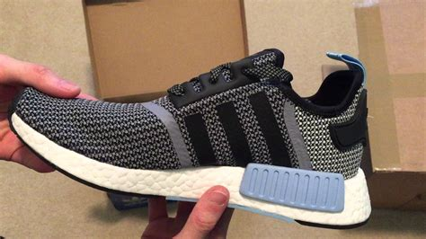 Adidas Nmd Pk Circa Knit adidas nmd r1 circa knit quot clear blue quot sneaker unboxing