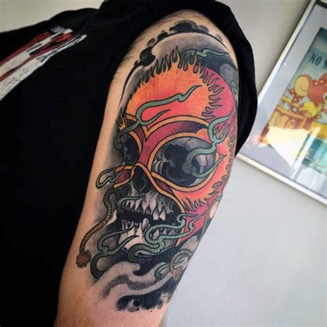 sick tattoo ideas for men 80 sick tattoos for masculine ink design ideas