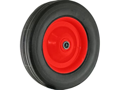 semi pneumatic rubber tire steel hub  ball