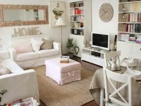 White Front Room Ideas White Shabby Chic Living Rooms Interior Design Decor Blog
