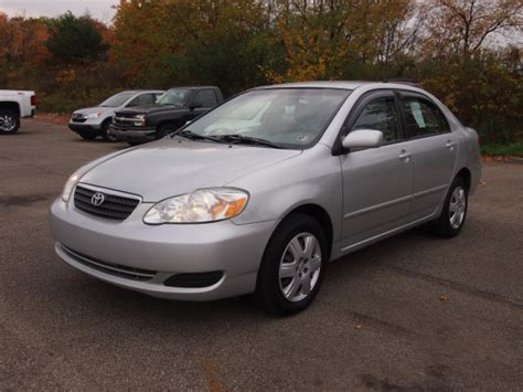 Toyota Corolla For Sale 2007 Used 2007 Toyota Corolla For Sale Carfax The