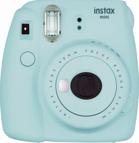 fujifilm instant polaroid fujifilm instax mini 9 instant blue 16550643