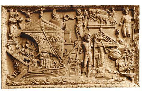cine entradas las vias la nave entra en el el relieve de torlonia hallado