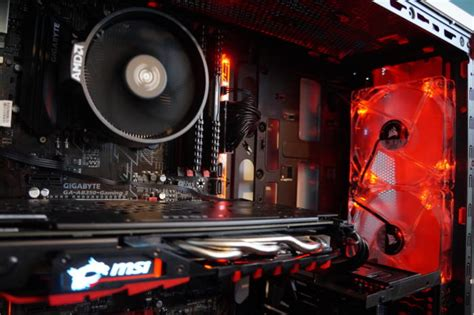 Pc Gaming Rakitan Ryzen 5 1500x this ryzen 5 1500x all amd pc brings compelling 8 thread gaming to the masses pcworld