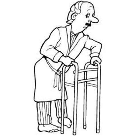 coloring pictures of old people coloring pages