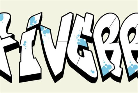 Graffiti Schriftzug Erstellen by Create Graffiti Style 3d Text Logo Fiverr