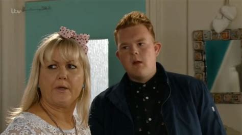 are and beth still married soap fans excited as emmerdale s butch dingle returns on coronation st daily