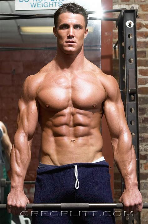 Greg Plitt The Best Gallery Of The No Fitness Model In The World