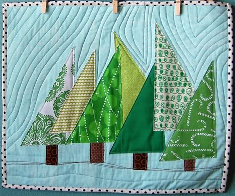 Quilted Tree by Quilt Inspiration Free Pattern Day Quilts