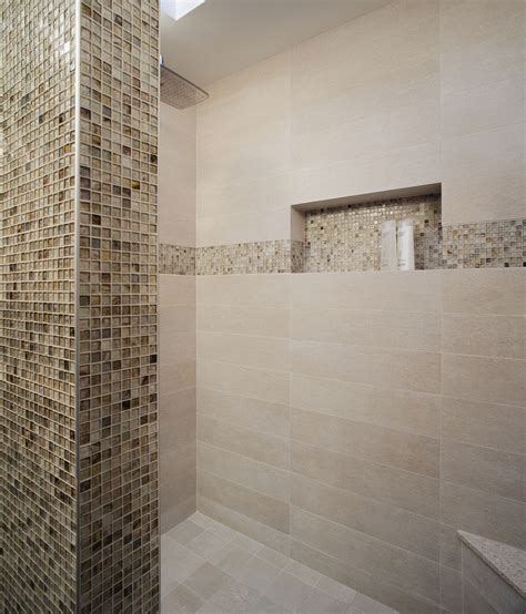 great tiled shower niche bathrooms shower