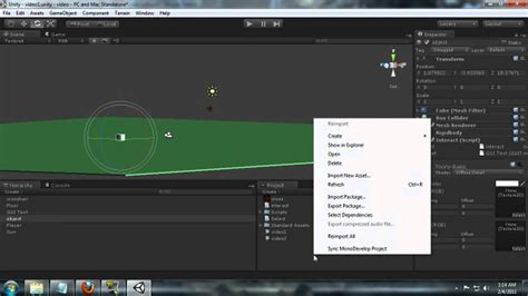 unity tutorial part 1 unity 3d first person object interaction scripting