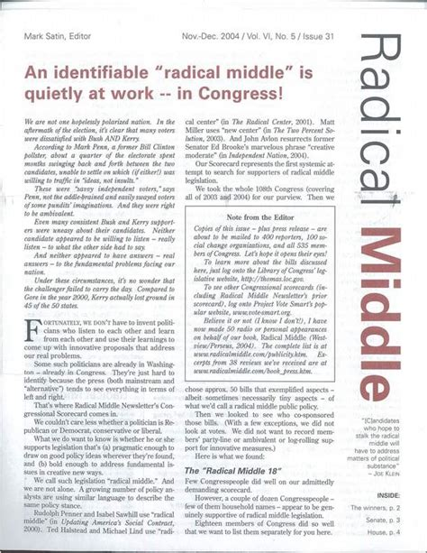 radical middle political newsletter idealism without