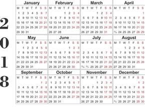 Year Calendar 2018 Printable 2018 Printable Calendar Year Free Loving Printable