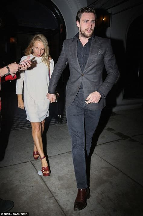 aaron taylor johnson on marriage aaron taylor johnson and wife sam enjoy a date night in