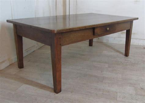 19th oak farmhouse coffee table 269446