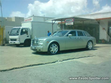 Rolls Royce Phantom Spotted In Unknown City Trinidad And
