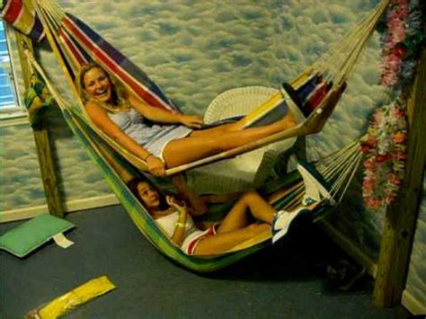 hammock bunk bed hammock bunk beds in my room youtube