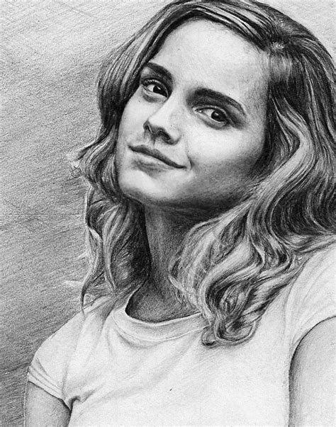 Portraits And Sketches by Watson Aka Hermione Granger Artwork By Pencilplane