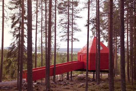tree hotel sweden treehotel se the blue cone