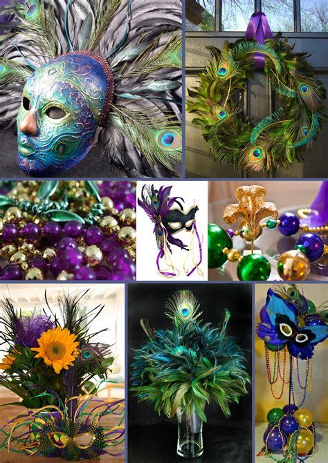 mardi gras themed decorations peacock inspired mardi gras inspiration bug