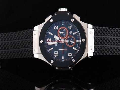 Hublot Senna Silver Black hublot silver with blue and silver marker