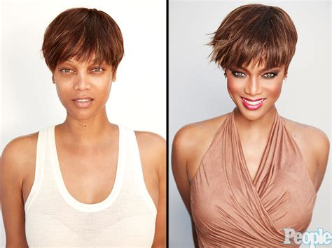 Tyra Banks No Makeup Photo: Model Bares All : People.com