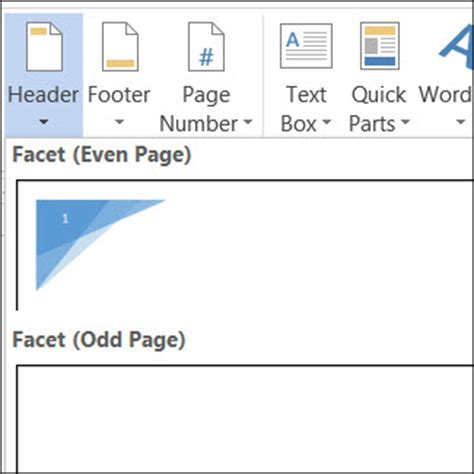creating header and footer in pages create different headers or footers for odd and even pages