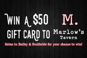 Marlow S Tavern Gift Card - atlanta s rock station rock 100 5 wnnx fm