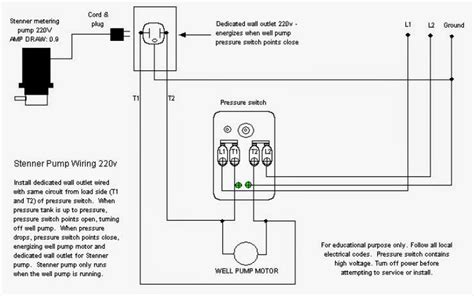 well pressure tank schematic wiring diagrams wiring