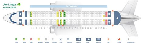 aer lingus seats seat map airbus a320 200 aer lingus best seats in plane