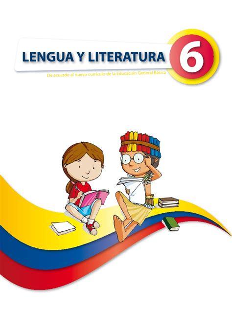 libro novedad 2011 lengua y lengua 6
