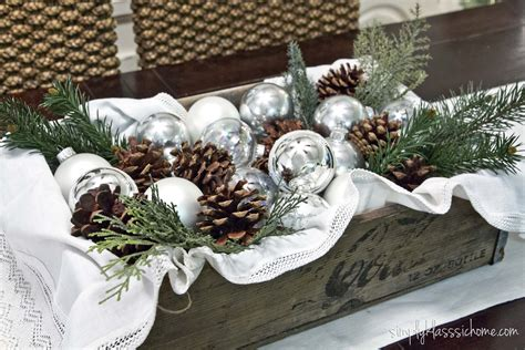 rustic glam christmas centerpiece yellow bliss road