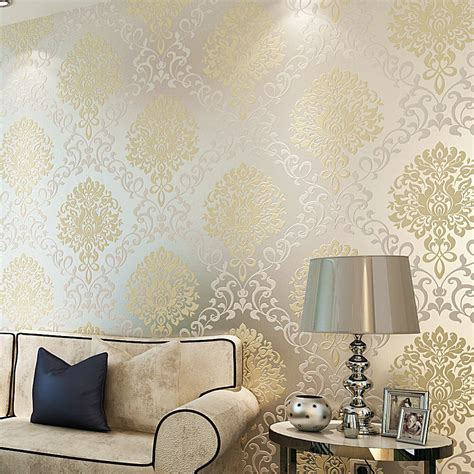 modern wallpaper for walls decosee com aliexpress com buy wallpapers vintage classic beige